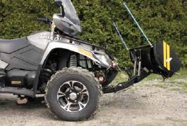 Quadrax T-Frame Auto Lock Plow Mount