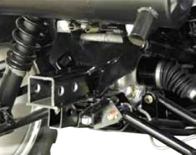 """2"""" Receiver Hitch (10-15 Sportsman 550, 850 XP, Touring)"""