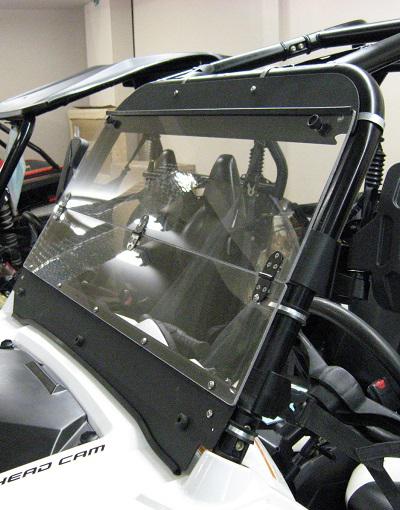 Quadrax Windshield Folding Windshield