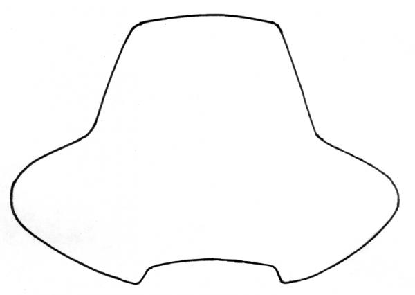 Quadrax Windshield M30 Atv Windshield Clear