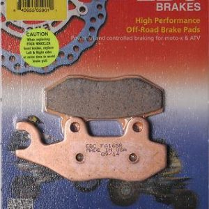 "EBC FA165R ""Long Life""  Brake Pads"