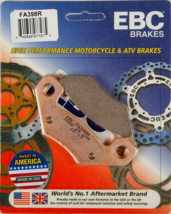 "EBC FA398R ""Long Life"" Brake Pads"