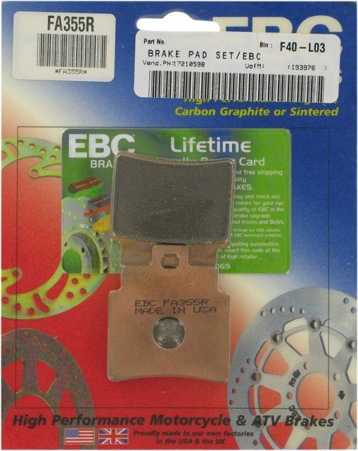 "EBC FA355R ""Long Life"" Brake Pads"