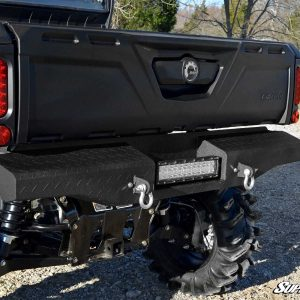 Can-Am Defender Diamond Plate Rear Bumper